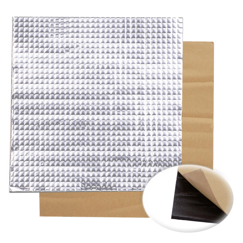 200x200x10mm Foil Self-adhesive Heat Insulation